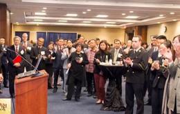Đại sứ Việt Nam tại Hoa Kỳ dự Tiếp tân của Viện Hoa Kỳ - châu Á