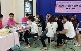 Hiến máu tình nguyện hưởng ứng Lễ hội Xuân hồng năm 2018