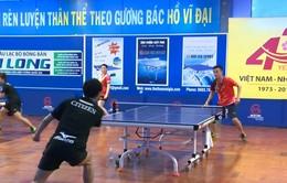 Cơ hội cọ xát quý giá của các VĐV bóng bàn Việt Nam