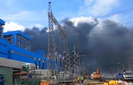 Khống chế kịp thời đám cháy tại Nhà máy Nhiệt điện Duyên Hải 3 mở rộng