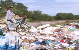 Ô nhiễm rác thải vùng nông thôn ở Quảng Trị