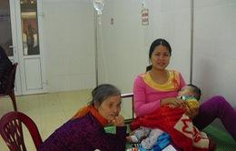 Hải Dương: Thời tiết nồm ẩm, gia tăng trẻ nhập viện