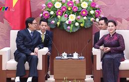 Chủ tịch Quốc hội tiếp Phó Chủ tịch Quốc hội Myanmar