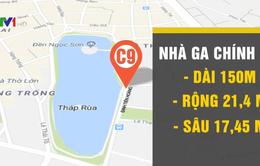 Từ 9/3, lấy ý kiến người dân về quy hoạch ga ngầm ở Hồ Gươm