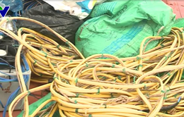 Quảng Bình: Kiểm tra, phát hiện 15 bộ công cụ kích điện tự tạo trên 3 tàu cá