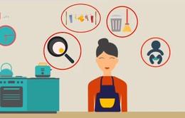Phụ nữ dành 207 ngày/năm cho các công việc chăm sóc không lương