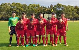 U16 Việt Nam ngược dòng thắng U16 Lào ở trận mở màn giải U16 Nhật Bản - ASEAN 2018