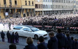 Hàng ngàn người hâm mộ đưa tang Davide Astori