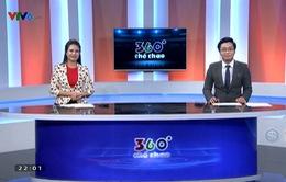 """XEM LẠI bản tin """"360 thể thao"""" ngày 23/1/2018 - U23 Việt Nam thắng U23 Qatar, hiên ngang vào chung kết U23 châu Á 2018"""