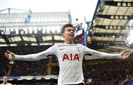 VIDEO Deli Alli lập cú đúp chóng vánh trong 4 phút, đưa Tottenham dẫn Chelsea 2 bàn