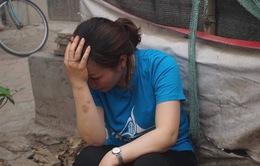 Hàng chục tiểu thương trắng tay sau vụ cháy chợ Quang ở Hà Nội
