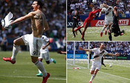 20 phút 2 bàn thắng, Ibrahimovic ra mắt hoàn hảo tại L.A Galaxy