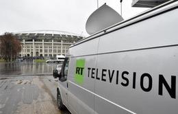 Kênh RT của Nga bị dừng phát sóng ở thủ đô Washington