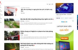 2 cách trải nghiệm phiên bản mới của báo điện tử VTV News