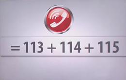 Đề xuất hợp nhất các số điện thoại khẩn cấp