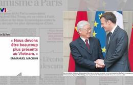 Báo chí quốc tế: Chuyến thăm Pháp và Cuba của Tổng Bí thư Nguyễn Phú Trọng sẽ mở ra cơ hội mới