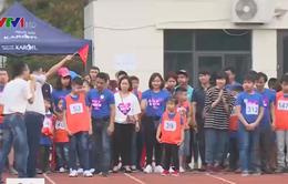 Sôi động ngày hội thể thao dành cho trẻ tự kỷ