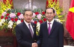 Chủ tịch nước đề nghị Việt Nam - Trung Quốc xử lý tốt vấn đề trên biển