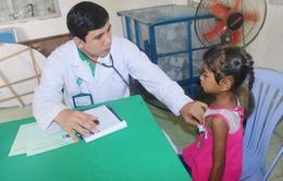 Tầm soát tim mạch miễn phí cho 200 trẻ người Khmer