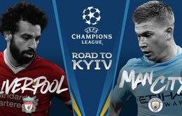 1h45 ngày 11/4, Man City - Liverpool: Còn gì để mất