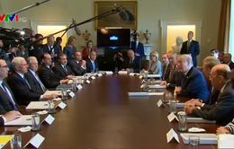 Nội các Mỹ bàn về phương án với Syria, Trung Quốc, Triều Tiên