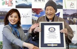 Cụ ông Nhật Bản lập kỷ lục người đàn ông cao tuổi nhất thế giới