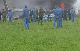 Vụ rơi máy bay quân sự tại Algeria: Số người thiệt mạng lên tới hơn 180 người