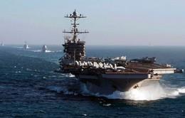 Mỹ sắp điều thêm nhóm tác chiến tàu sân bay tới Trung Đông