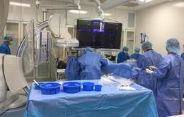 Cứu bệnh nhân bị nhồi máu cơ tim trên nền nhiều bệnh nặng