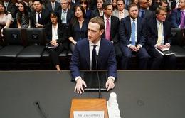 Ông chủ Facebook Zuckerberg tiếp tục ra điều trần trước Quốc hội Mỹ