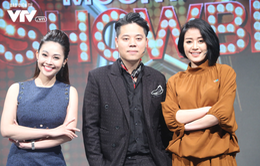 Dương Trần Nghĩa bảnh bao bên hai người đẹp VTV