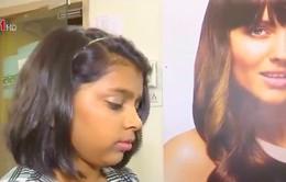 Cô bé 12 tuổi làm nghề tạo mẫu tóc
