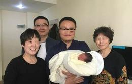 Hy hữu: Em bé ra đời 4 năm sau khi cha mẹ mất