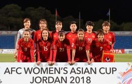 ĐT nữ Việt Nam khép lại hành trình tại VCK Asian Cup 2018