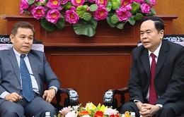 Thúc đẩy hợp tác Mặt trận Việt Nam - Lào