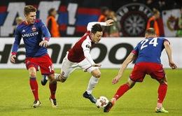 Kết quả Europa League rạng sáng 13/4: Arsenal 2-2 CSKA Moscow, Salzburg 4-1 Lazio...
