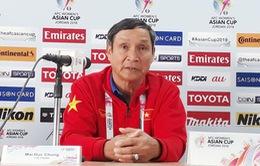"""HLV Mai Đức Chung: """"Chúng tôi sẽ dốc toàn lực cho trận đấu với ĐT nữ Hàn Quốc"""""""