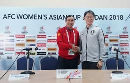 VCK Asian Cup nữ 2018 (bảng B): Phát biểu trước trận Việt Nam - Hàn Quốc
