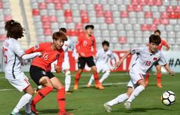 VCK Asian Cup 2018: ĐT nữ Việt Nam thất bại trước ĐT nữ Hàn Quốc