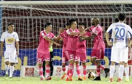CLB Sài Gòn 3 - 1 CLB HAGL: Bùi Trần Vũ lập cú đúp, CLB Sài Gòn thắng trận đầu tiên