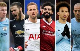 Man City áp đảo danh sách đề cử Cầu thủ của năm