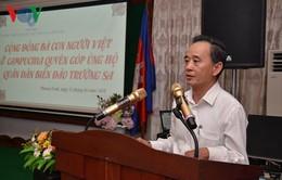 Cộng đồng Việt kiều tại Campuchia hướng về biển đảo thân yêu