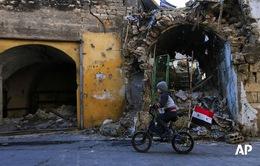 Ba dân thường Syria bị thương trong vụ tấn công của  Anh - Pháp - Mỹ