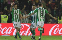Kết quả bóng đá châu Âu rạng sáng 14/4: Real Betis giành 3 điểm, Nice bị cầm hòa