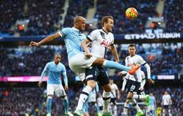 Lịch thi đấu bóng đá tối 14, rạng sáng 15/4: Tâm điểm Tottenham - Man City