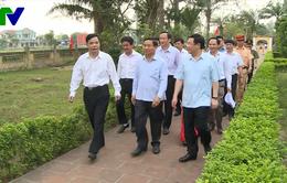 Phó Thủ tướng Vương Đình Huệ thăm và làm việc tại các khu dân cư nông thôn mới kiểu mẫu
