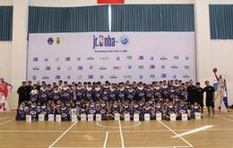 Hơn 1000 bạn nhỏ tham gia Jr.NBA 2018 tại TP Hồ Chí Minh