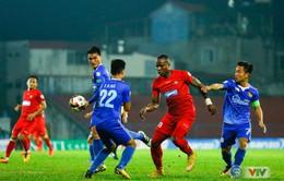 Vòng 5 Nuti Café V.League 2018 ngày 15/4: CLB Hải Phòng 0-2 CLB Quảng Nam, B. Bình Dương 3-3 FLC Thanh Hóa, XSKT Cần Thơ 3-3 SLNA