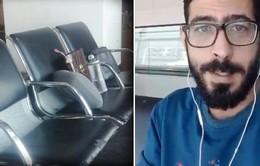 Không thể trở về nhà, người đàn ông Syria trú ngụ tại sân bay hơn 1 tháng