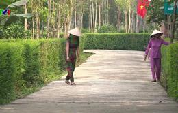 Nhân rộng khu dân cư nông thôn mới kiểu mẫu, vườn mẫu